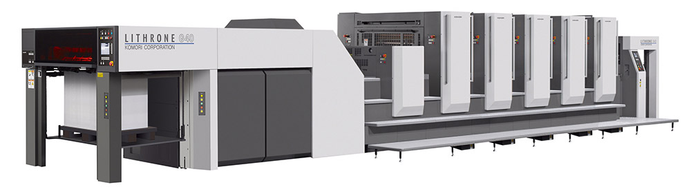 Komori G40 printer